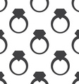 jewelery ring seamless pattern vector image