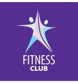 logo for fitness vector image vector image
