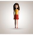 person avatar design vector image