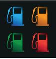 petrol gauge vector image vector image