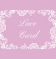 wedding cards set vector image vector image