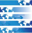 world banners vector image