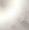 indian paisley design background vector image