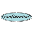 confidential vector image