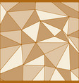 background of polygons vector image