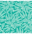 Emerald green plants seamless pattern background vector image vector image