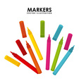 markers design vector image vector image