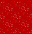 seamless christmas holidays background of a vector image vector image