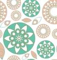 Seamless folk pattern vector image vector image