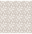 seamless pattern of stylized petals vector image vector image
