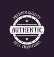 Authentic vintage emblem badge label