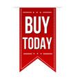buy today banner design vector image