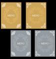 menu18 vector image vector image