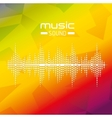 music sound design vector image vector image