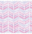 purple pink tribal chevron repeat pattern design vector image vector image