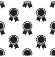 seamless awards pattern vector image vector image