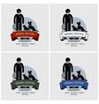 veterinarian clinic logo design artwork vector image