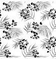 Watercolor abstract tropical pattern