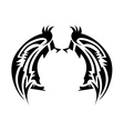 Wings tatoo vector image