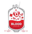 Blood Donation medical vector image