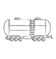 cargo tank icon vector image