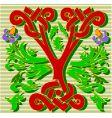 decorative letter Y vector image vector image