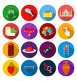hygiene history business and other web icon in vector image vector image