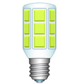 LED lamp vector image vector image
