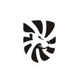 lion shield logo template icon vector image vector image