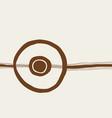 minimalist wall art vector image