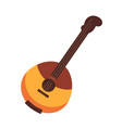 national russian and ukrainian wooden stringed vector image vector image