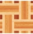 Platting Parquet Seamless Floor Pattern vector image vector image