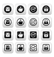 Shopping buttons set - account save 24h shoppin vector image vector image