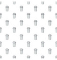 take away paper cup pattern vector image