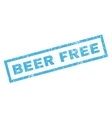 Beer Free Rubber Stamp vector image vector image