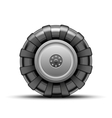 Big wheel vector image