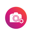 camera repair service icon vector image