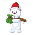 christmas character vector image