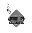 classic style cigars since 1897 isolated vector image vector image