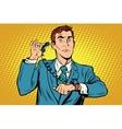 Gadget wrist watch phone vector image vector image