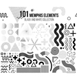 Mega set of design elements vector image vector image