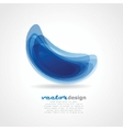 Abstact Infinite loop logo template vector image vector image