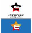 Alphabetical Logo Design Concepts Letter E vector image vector image