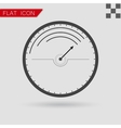 Black Speedometer icon vector image vector image