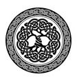 celtic tree life vector image vector image