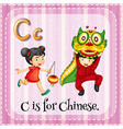 Chinese vector image vector image