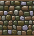 colored old stone texture seamless vector image vector image