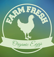Farm fresh design vector image vector image