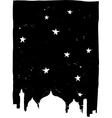 Istanbul Night vector image
