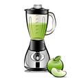 kitchen blender vector image vector image